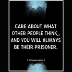 Image for the Tweet beginning: Care about what other people