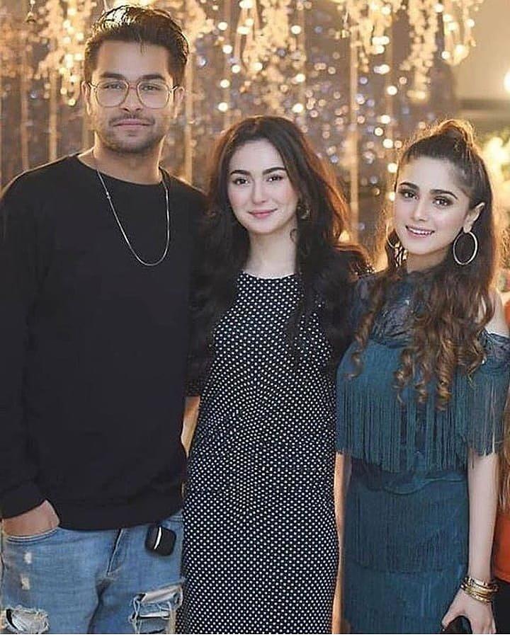 Three beautiful people in one frame #Asimazhar #haniaamir & #aimabaig #celebrity #pictureofpakistan #instapakistan #pakistaniwear #tvkahani<br>http://pic.twitter.com/XUX8oyktci
