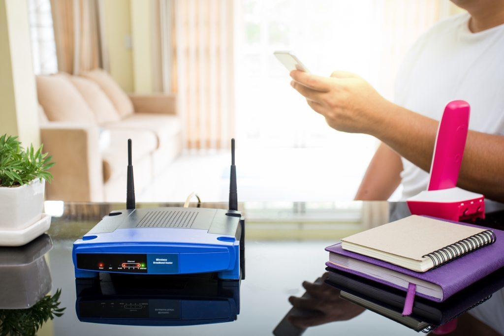 Dónde colocar el router para que el WiFi vaya más rápido.