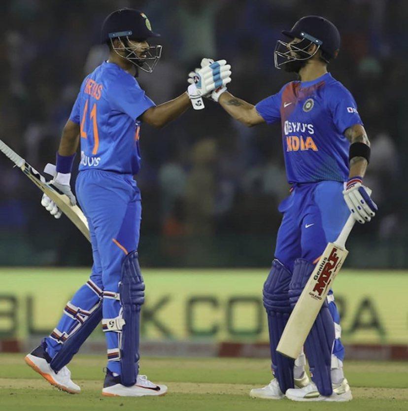 @imVkohli  We're up and running #TeamIndia  <br>http://pic.twitter.com/zapfX2IaEi
