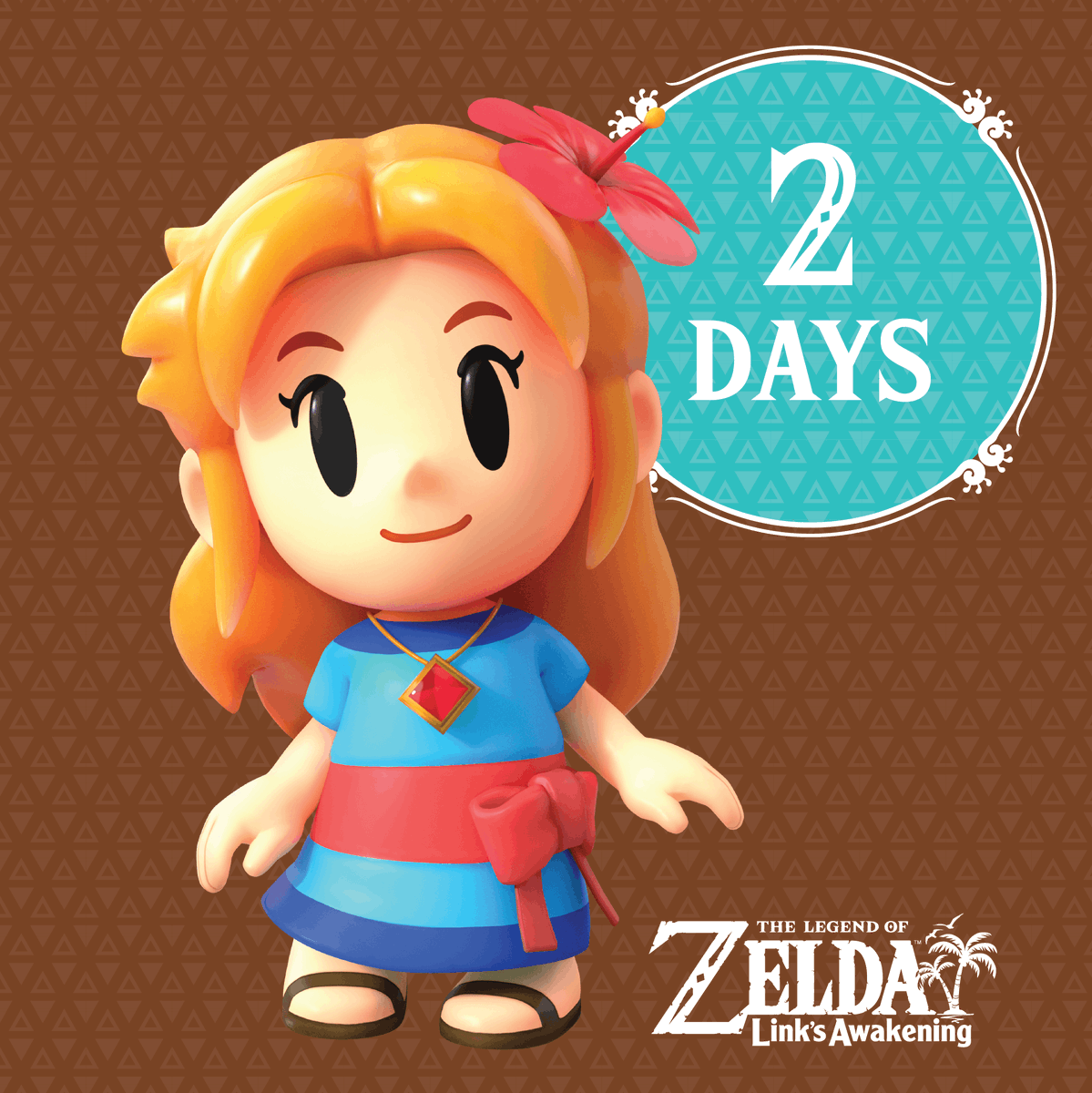 Only two days remain until Link meets Marin and the other inhabitants of Koholint Island in The Legend of #Zelda: Link's Awakening.Relive the classic story on #NintendoSwitch this Friday: http://bit.ly/2zs2dMP