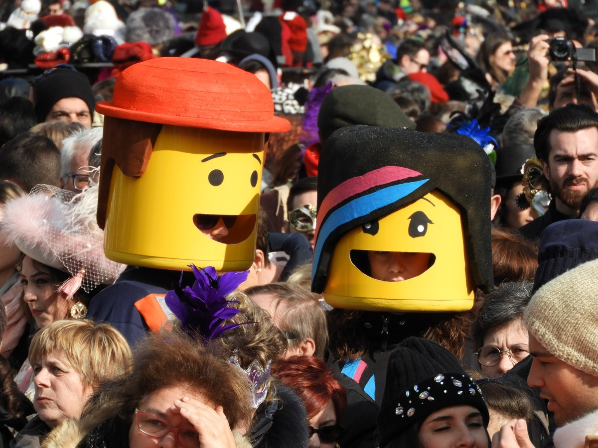 Have fun friends!   #LEGO special guest even at Ve...