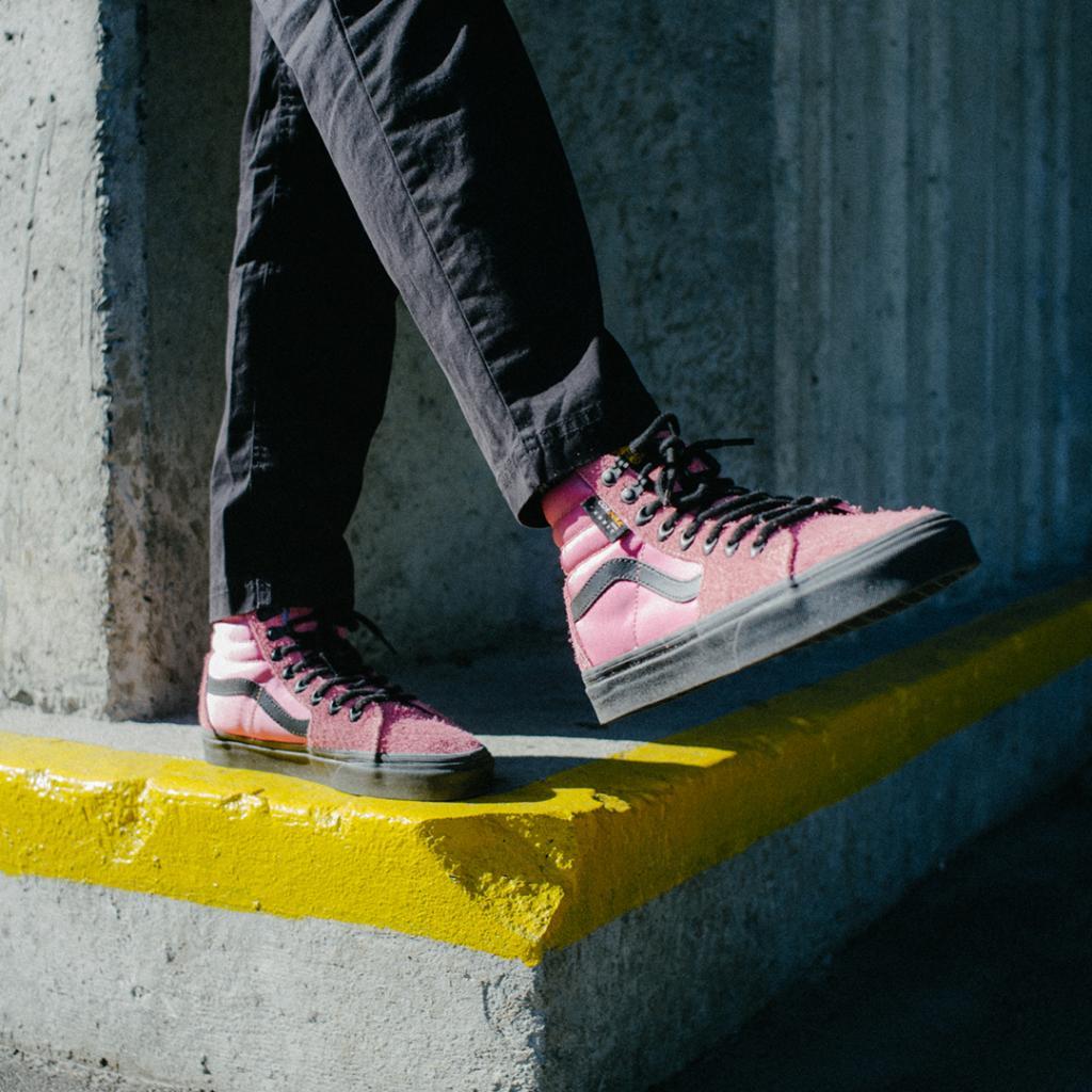 buy \u003e pink vans on feet, Up to 73% OFF