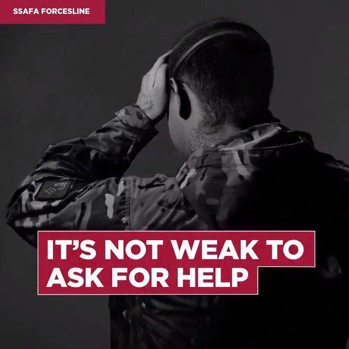 Image for the Tweet beginning: It's not weak to ask