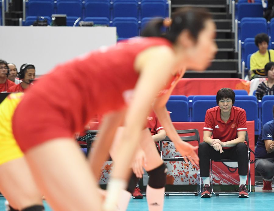 #China , #UnitedStates keep winning streaks intact at #FIVBWWCup . Read more: http://xhne.ws/75Bwd