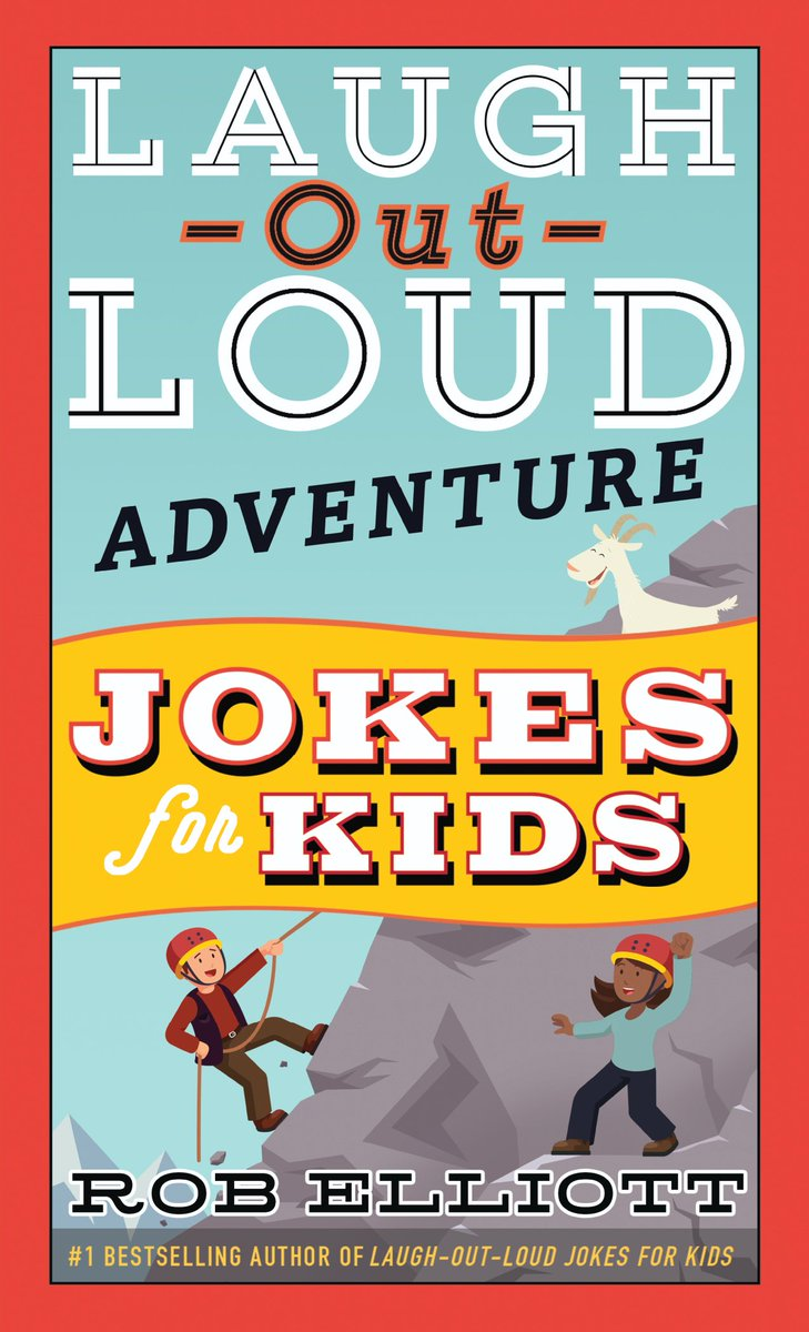 Looking for a laugh? Well, look no further! LAUGH-OUT-LOUD ADVENTURE JOKES FOR KIDS by Rob Elliot (@loljokesforkids) is out today! ow.ly/4hQf50vWliD