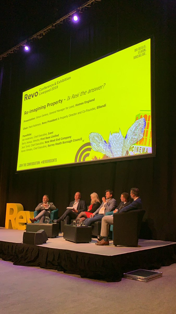 """""""The property industry is still stuck in silos - how many people at Revo would also be at a residential property conference?"""" asks Ian Anderson, CEO of #Iceni #Revoinsights #mixeduse"""