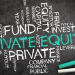 Image for the Tweet beginning: Private equity, raccolta in calo.