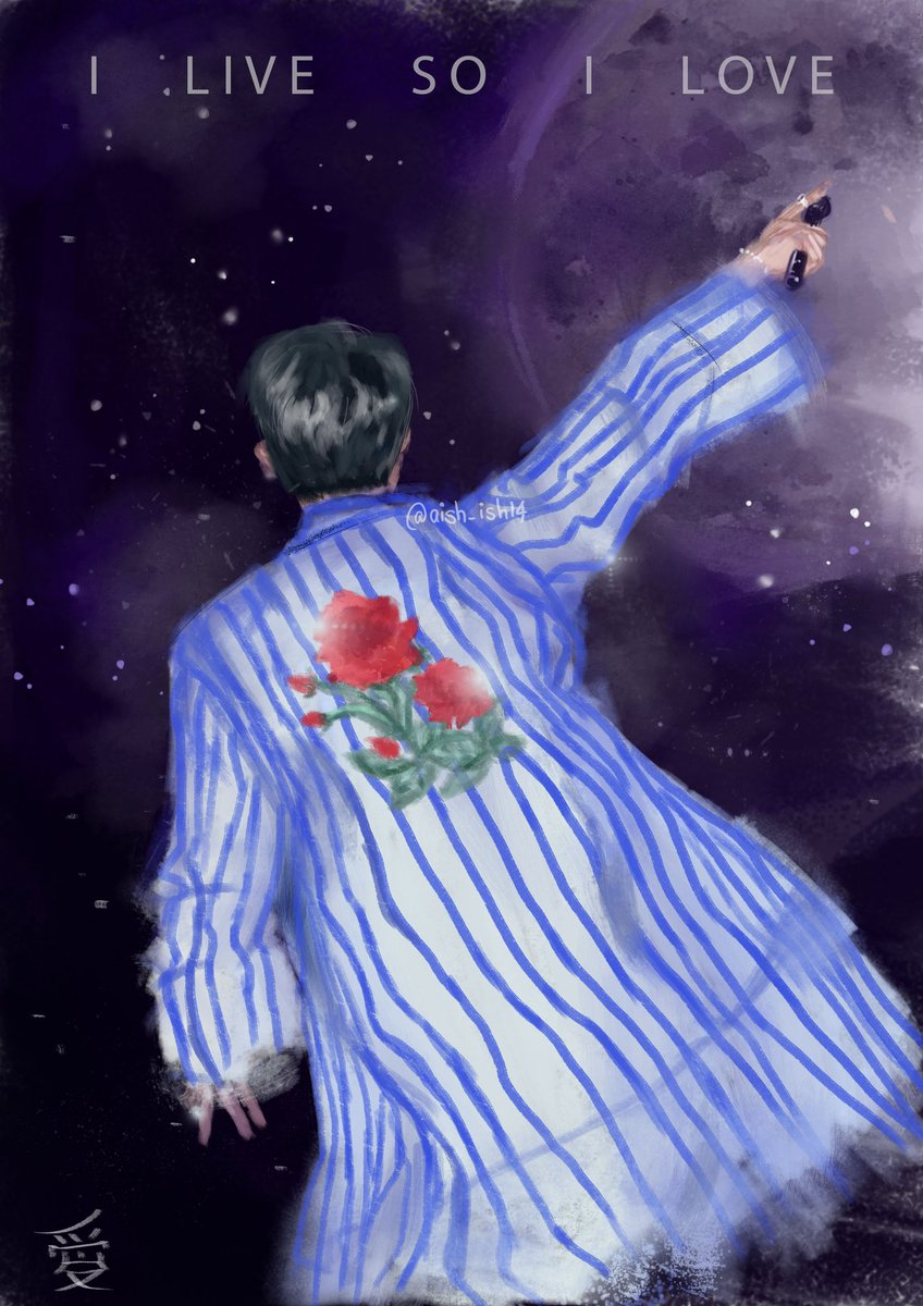 To all the moon children. #HappybirthdayNamjoon #BTS #RM #btsfanart