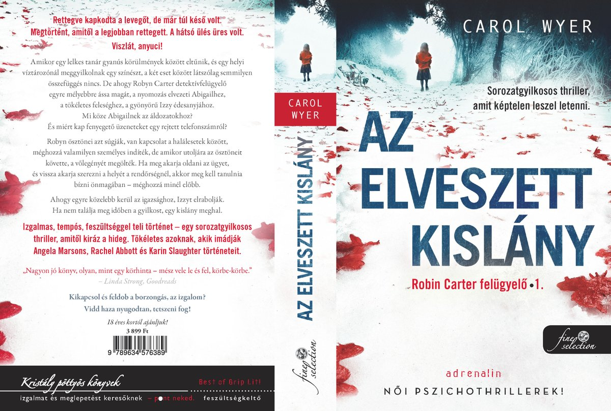 I love seeing my books in different languages. It gives me a huge thrill. I am delighted to share this super Hungarian version of Little Girl Lost from my Hungarian publishers, Konyvmolykepzo Publishing. It will be out later this month on the 30th September. pic.twitter.com/8cr7KglXR9