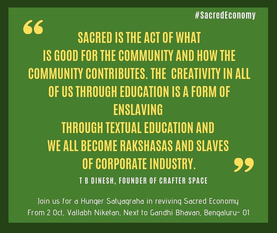 gram seva sangh on where is education leading us