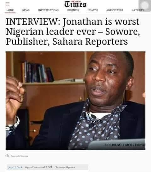 Let's test his theory.  Do you believe @GEJonathan is the worst Nigerian President ever?   RETWEET if you DONT believe   Like if you believe   #CowardNigeria