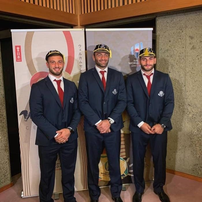 Well, we wish All the luck in the World to @rugbyworldcup commentators pronouncing Beka GORGADZE, Mamuka GORGODZE & Otar GIORGADZE when boys hit the pitch during #RWC2019 😲🎙📢