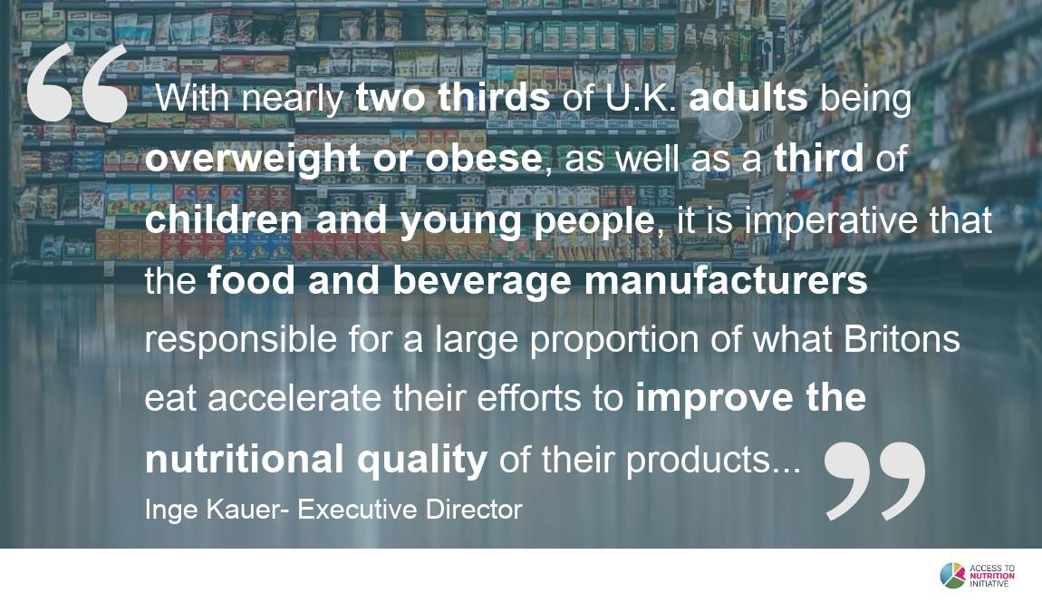 Our latest report reveals that most #food and #drink products on sale in the UK #fail to meet the #healthy standard. #UKProductProfile2019 Check it out! ➡ bit.ly/2mmOwLY