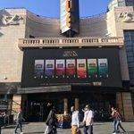 Image for the Tweet beginning: Big entrance from @greenandblacks for