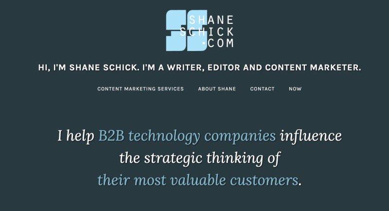 Shane Schick (@shaneschick) | Twitter