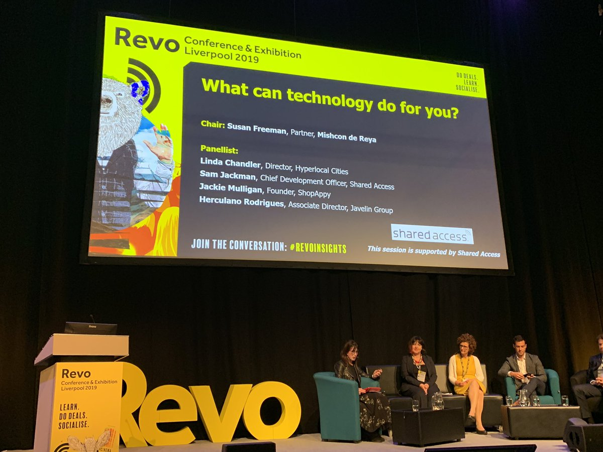 """""""Mobile phones won't be with us forever, it'll be about wearables"""" says Linda Chandler #hyperlocalcities #Revoinsights"""