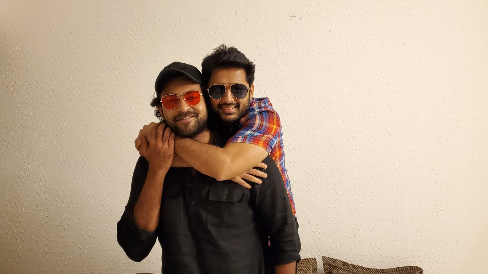 Nithiin On Twitter With Mr Gaddhala Konda Ganesh Really Enjoyed Being Part Of Valmiki It Was So Much Fun I Wish You All The Good Luck For The Release Yours Bheeshma