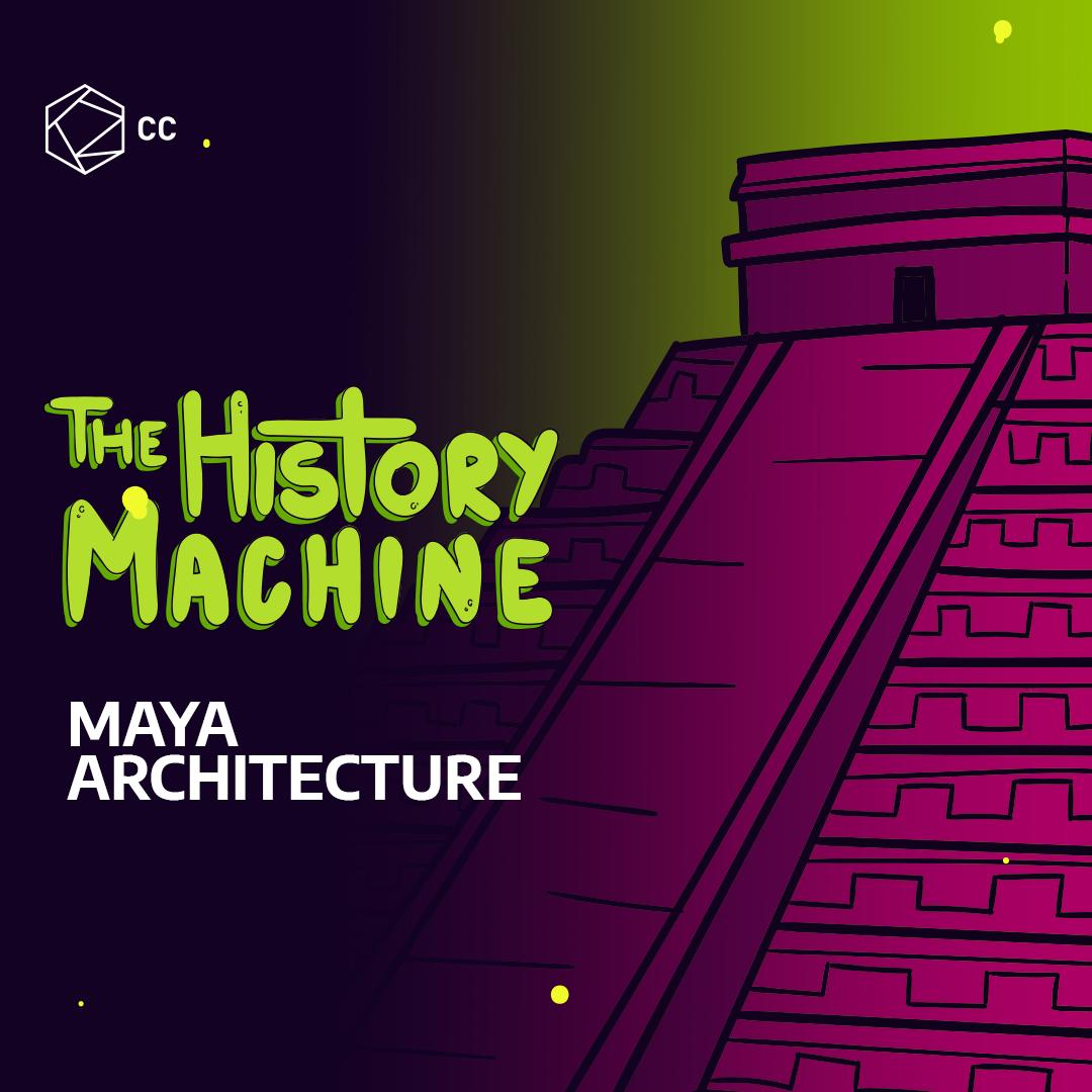 The Mayans were way ahead of their time and built some of the most complicated and beautiful structures on the planet. #TheHistoryMachine #IAmLatinx #LatinxHeritageMonth