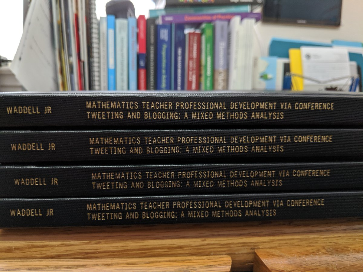 It took much longer than I thought it would, but the Ph.D. journey is over finally. They arrived! Now, to send them to their final home w/ family. #phdlife #phdjourney #end #newbeginnings<br>http://pic.twitter.com/Feg97jPYMx