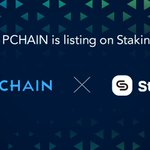 Image for the Tweet beginning: PCHAIN listed on Staking². Both