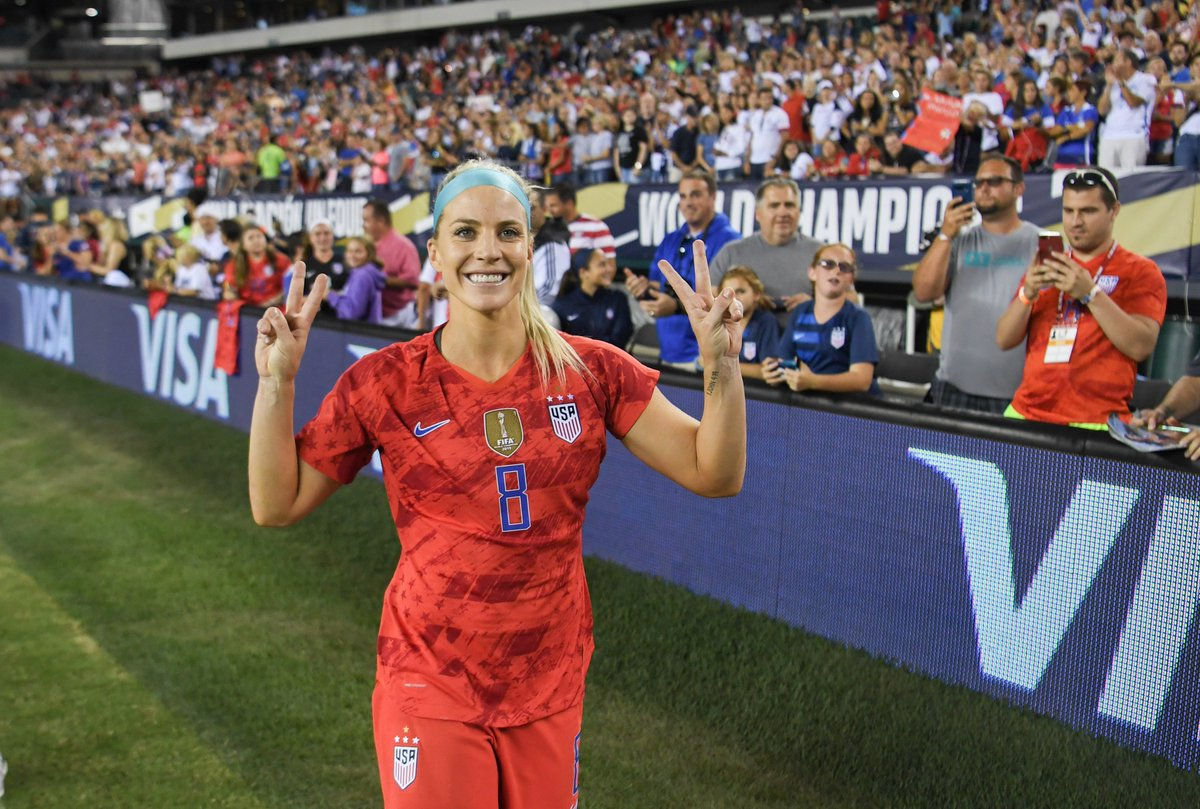 .@USWNT has announced the last two friendlies of the year 🇺🇸The #FIFAWWC champions will face Sweden 🇸🇪 on Nov. 7 at MAPFRE Stadium in Columbus, and Costa Rica 🇨🇷 on Nov. 10 at TIAA Bank Field in Jacksonville 🙌