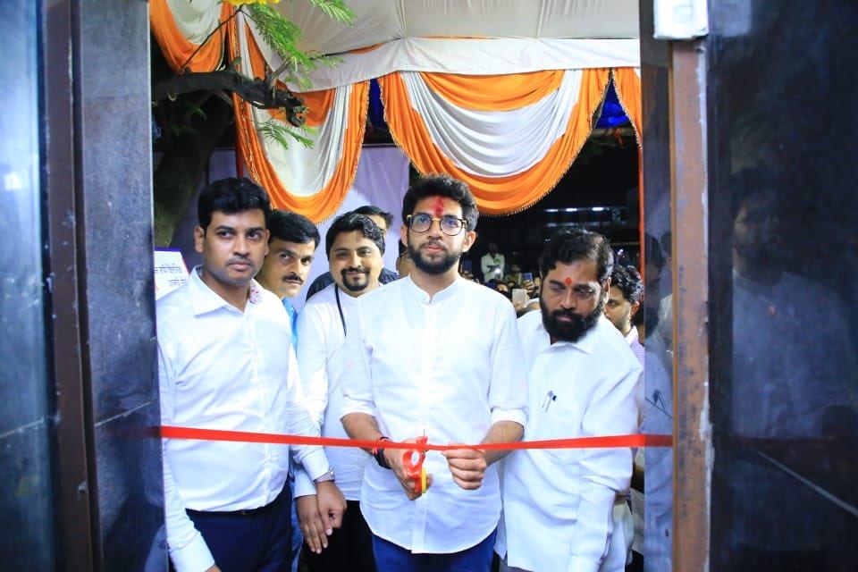 जन आशीर्वाद यात्रे दरम्यान मुंब्रा येथे १ रु क्लिनिकचे उद्घाटन केले. #JAYMaharashtra