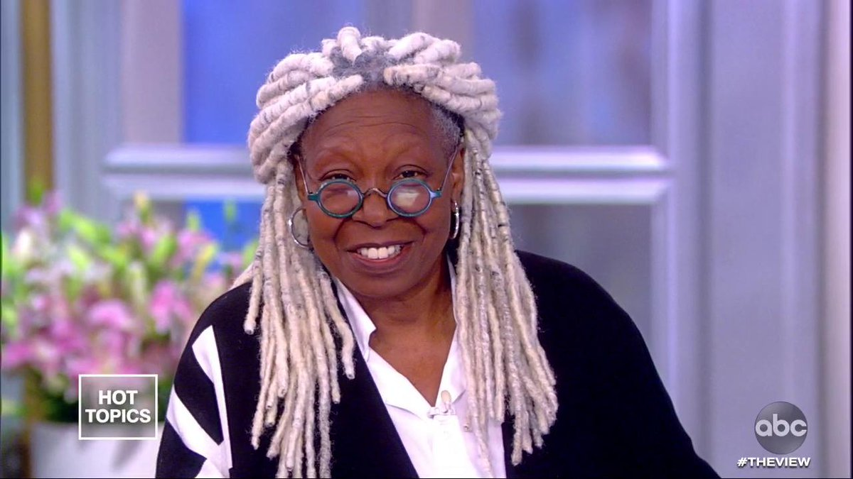 WHOOPI'S NEW HAIR: No, your eyes aren't deceiving you — @WhoopiGoldberg's got a new do! Hear about her new look as she prepares to film @StephenKing's #TheStand. abcn.ws/2O981Ub