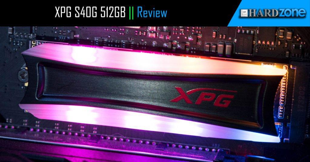 XPG Spectrix S40G 512GB, review: un SSD NVMe de gran rendimiento e iluminación RGB