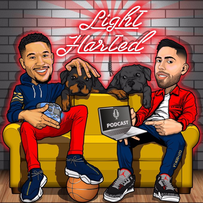 #LightHarted Podcast with @joshhart #Pelicans | EP 15 | SACRIFICE & SOURCES with Chris Broussard | @Chris_Broussard #Sacrifice #Sources #FoxSports   @lighthartedpod #NBA #NBATwitter #NBPA #NBAPodGod  Listen here 🎧:  https://t.co/8x4PVGvbgR https://t.co/lfJc7CCnbv