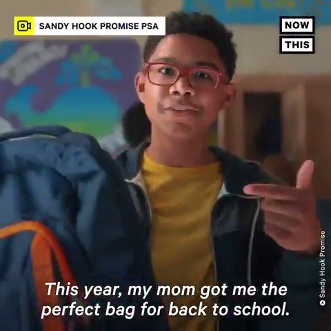 Sandy Hook Promise has released this harrowing PSA in time for back-to-school