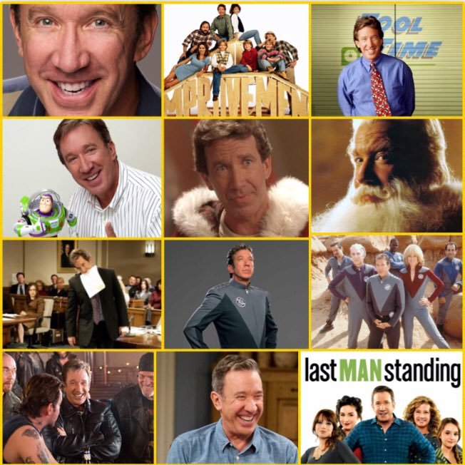 #WW Wonderful Wednesday - When you truly need MORE POWER: @ofctimallen #TimAllen @sagaftra http://www.timallen.com  New episodes of @LastManStanding Fridays at 8pm/7pm Central on @FOXTV #ToolTime #TheSantaClause #GalaxyQuest #WildHogs #TheShaggyDog #ToyStory #LastManStanding