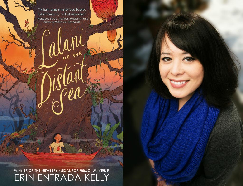Come meet @erinentrada at @SLCL on 9/26, #StLouis! Shell be sharing all the deets about her new book, LALANI OF THE DISTANT SEA: ow.ly/reJy50vFZ5T