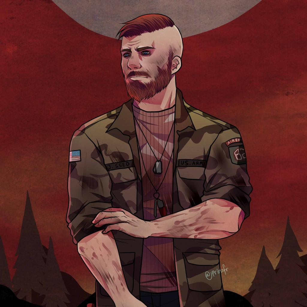 Far Cry 6 On Twitter Beautiful Artwork Of Jacob Seed By Prinzfricorith Farcry5
