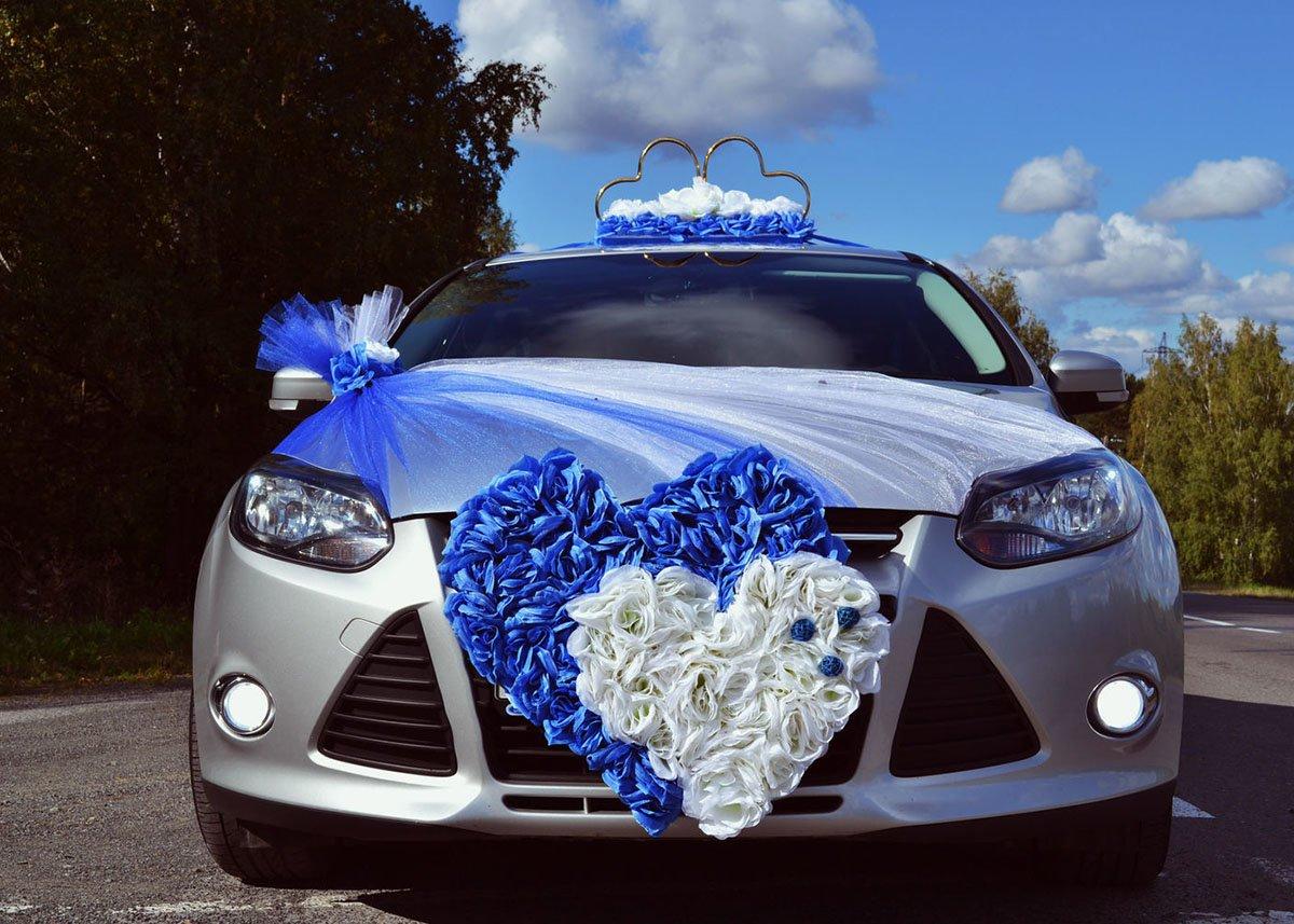 Картинки свадебная машина