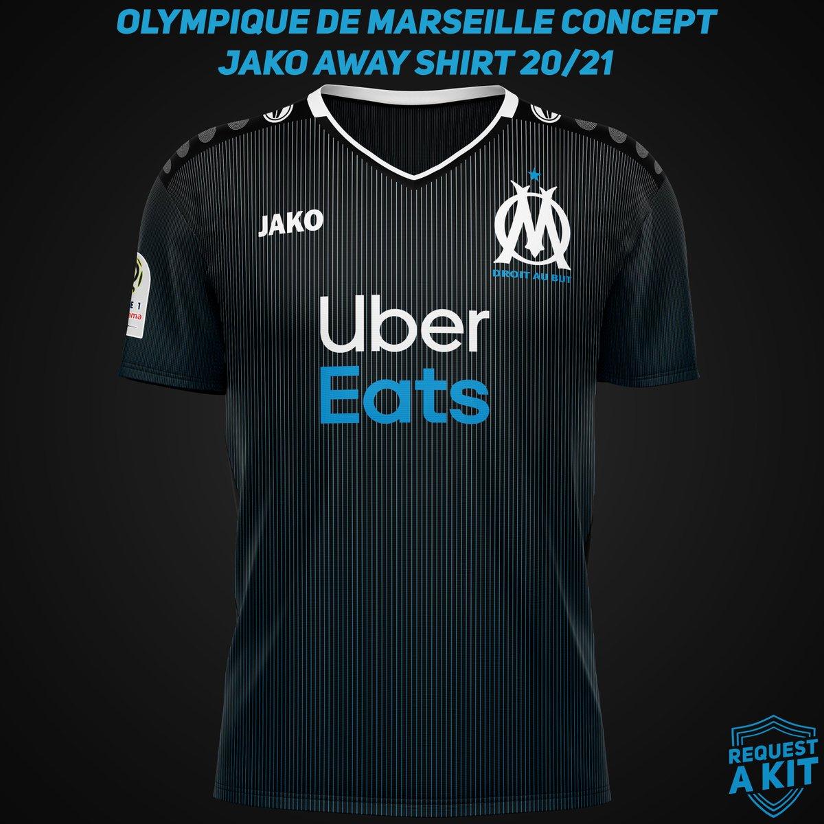 Request A Kit On Twitter Olympique De Marseille Concept Jako