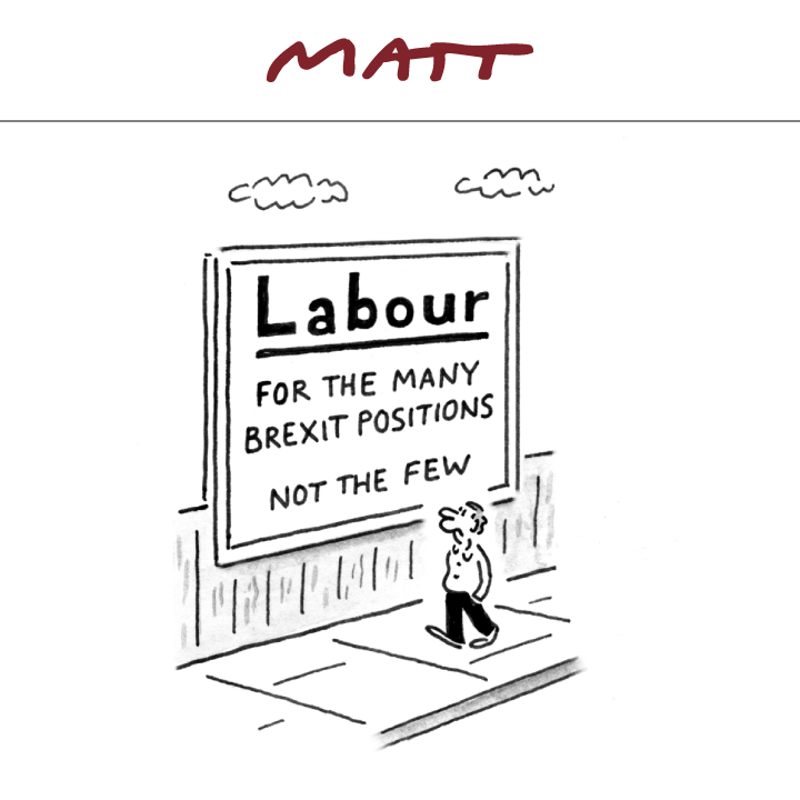 Heres my cartoon for tomorrows @Telegraph #Labour #Brexit