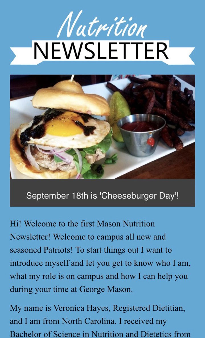 Mason Dining On Twitter It S Here Keep Up With Your Nutrition Every Month With Our Nutrition Newsletter Masondietitian Nutritionnewsletter Https T Co O4aw7cjgpn