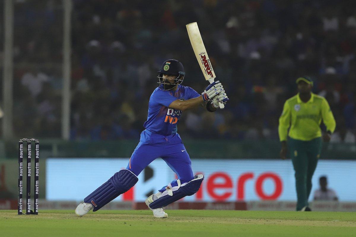 Kohli and Chahar registers win at Mohali