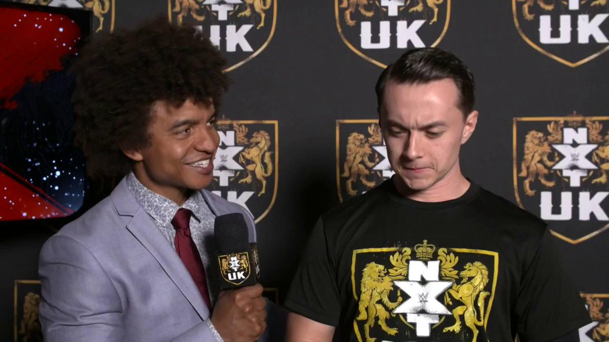 EXCLUSIVE: @SidScala is READY to make history when he battles @KassiusOhno in WWE's first-ever #BritishRounds Match TODAY on #NXTUK!