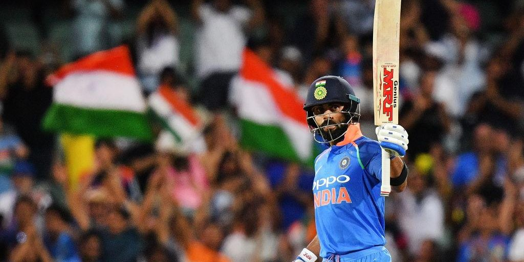 Another record broken!  Virat Kohli has now scored more runs in men's T20Is than any other cricketer   <br>http://pic.twitter.com/1fBBGJjyOQ