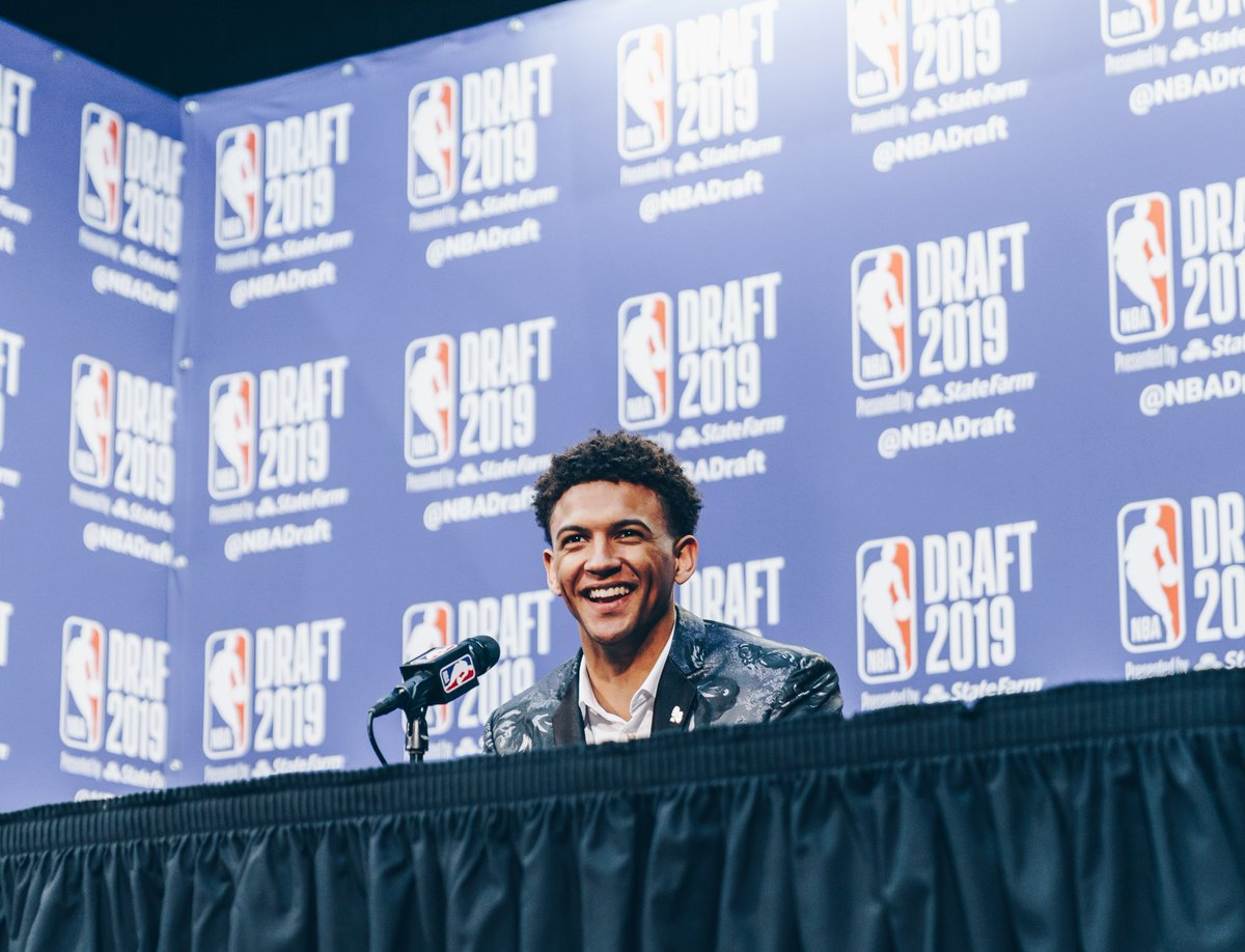 He guards. He's good people.  @MatisseThybulle x #NBARookieWeek