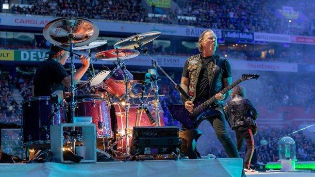 Cooperativa On Twitter Estudio Revela Que Metallica Es La