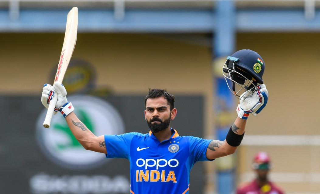 The only batsman in history to average 50+ in all three formats of the game.  11,520 ODI runs - the 8th highest ODI run-scorer in cricket history.  2,441 T20I runs - the number one T20 run-scorer in cricket history.  He's still just 30.  Virat Kohli *is* cricket history. #IndvsSA<br>http://pic.twitter.com/MvB5tpt2Dn