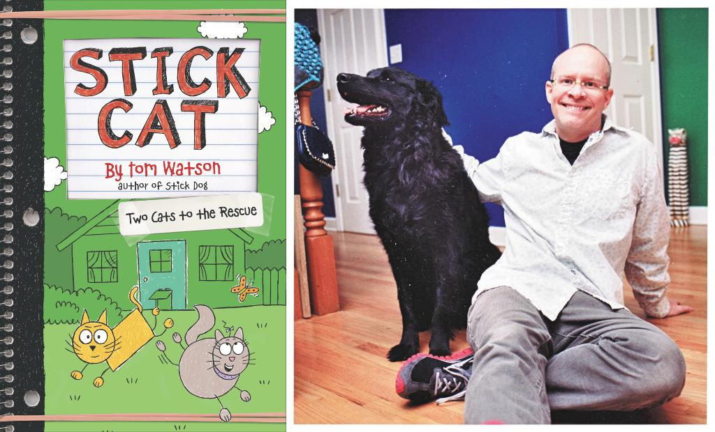 STICK CAT author Tom Watson will be at @boulderbooks on 9/27! Come join him to get a signed copy of the latest book in the series, TWO CATS TO THE RESCUE: ow.ly/SRYE50vEXY9
