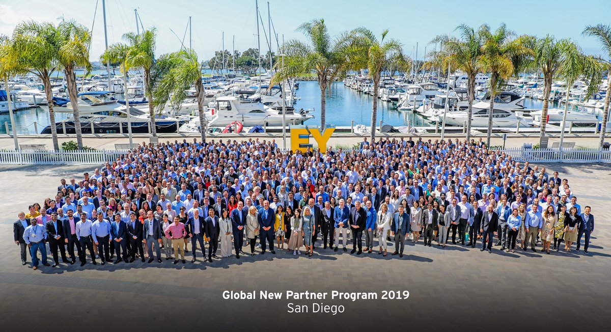 Celebrating the future of our firm with 733 new partners from around the world whose transformative leadership will enable us to reach new heights, accelerate innovation and create long-term value for our clients. Congrats on this incredibly important milestone! <br>http://pic.twitter.com/eh6TAqCwYd