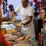 Image for the Tweet beginning: It's San Gennaro — mangia!