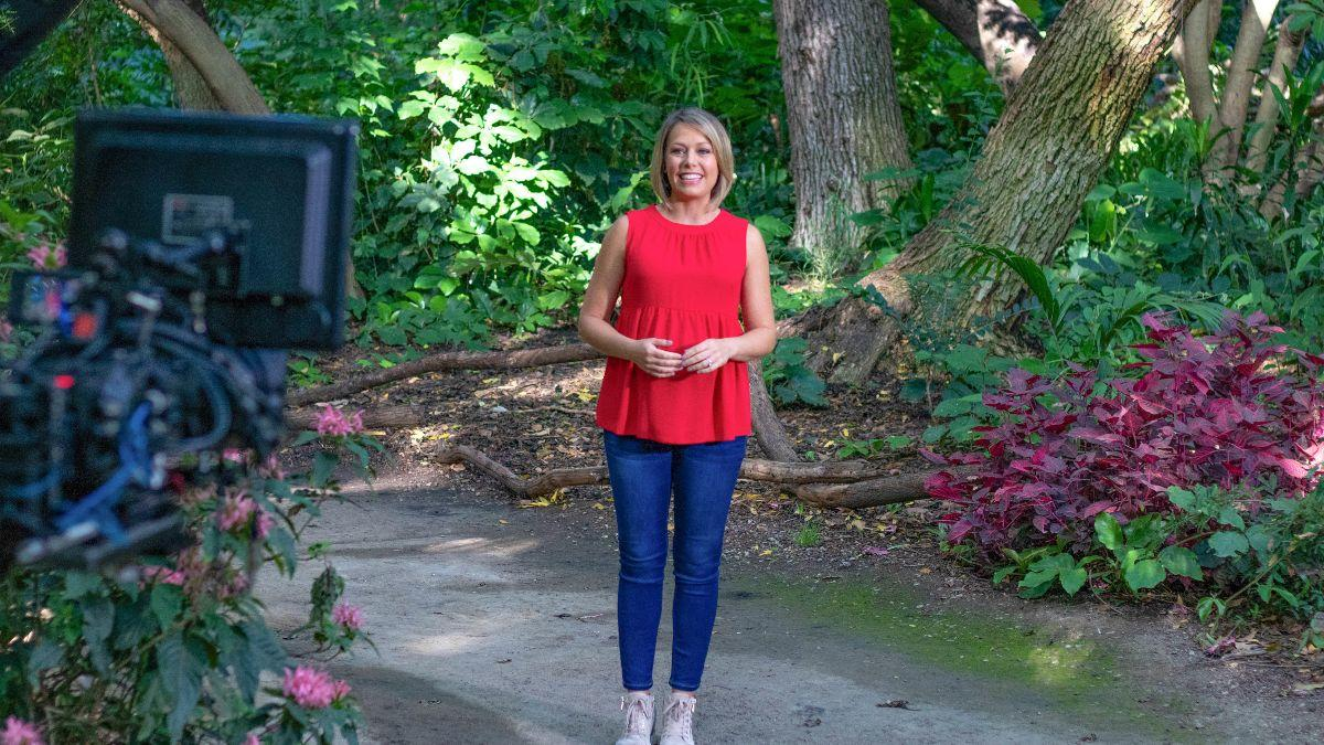#ThrowbackThursday filming #EarthOdyssey with @DylanDreyerNBC! Tune in every weekend on #NBC. #BehindTheScenes