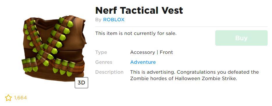 Roblox Tactical Vest T Shirt