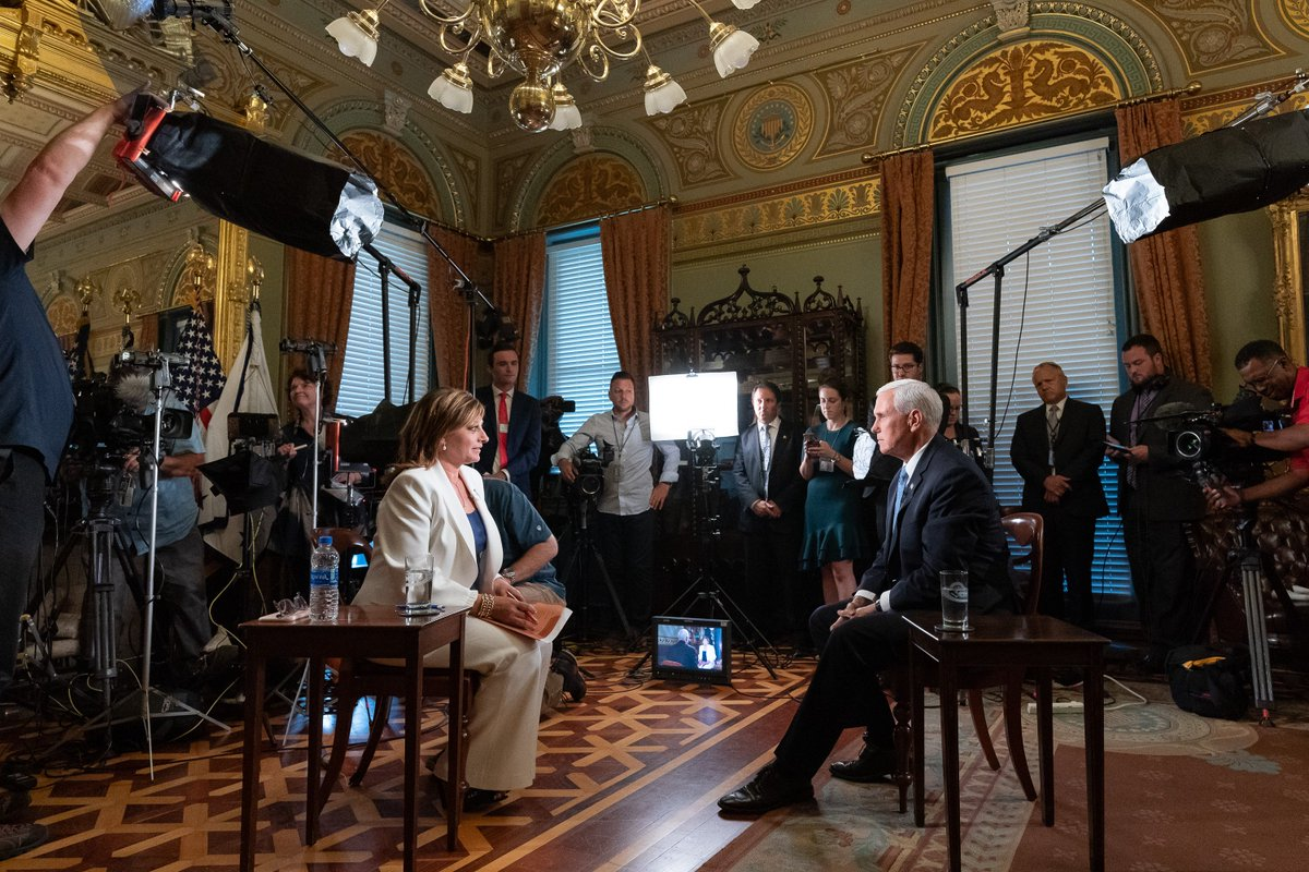 RT @VP: I'll be joining @MariaBartiromo tomorrow morning to talk about our BOOMING economy under President @realDonaldTrump and how the #USMCA will keep America growing strong! #USMCAnow